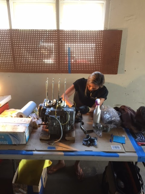 San Diego Girl Garage: CB350 Top-End Rebuild: Day 1