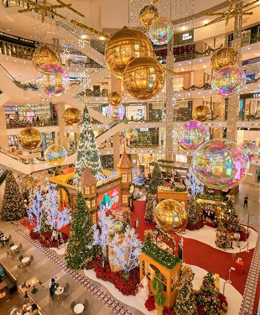 Pavilion KL Golden Christmas Memories, Da Men USJ, Intermark Mall,  Dior Holiday Tree, Malaysia Shopping Mall Christmas Deco,  Lifestyle