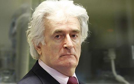 Radovan Karadzic penjahat perang yang telah membunuh ribuan muslim bosnia