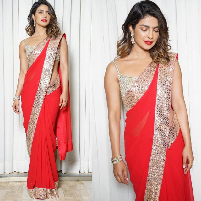 Priyanka Chopra Wears Abu Jani Sandeep Khosla for Ambani Bash