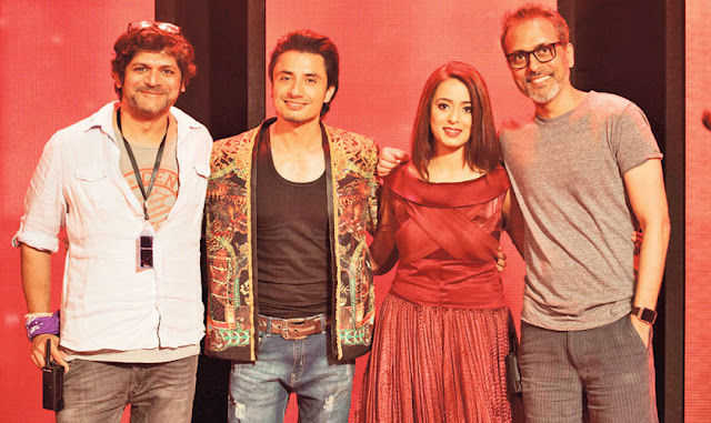 natasha khan pakistani singer with ali zafar and strings