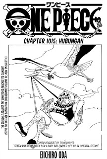 Update! Baca Manga One Piece Chapter 1015 Full Sub Indo
