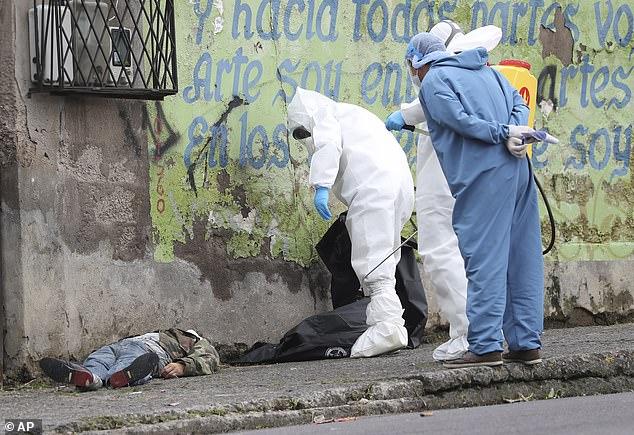 COVID-19 Victims Dead Bodies Found In The Streets Of Ecuadorian City