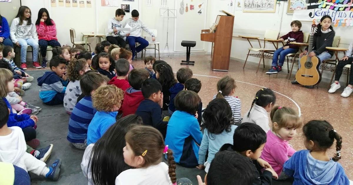 Colegio San Miguel Las Rozas Celebración Santa Cecilia 18 Ed Infantil