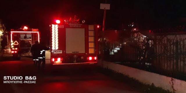 Νεκρός ηλικιωμένος στην Κόρινθο μετά από πυρκαγιά στο σπίτι του