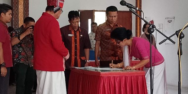 Adelheid Sosang Resmi Jadi Kepala Dinas Lingkungan Hidup Tana Toraja
