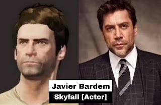 Skyfall movie actor