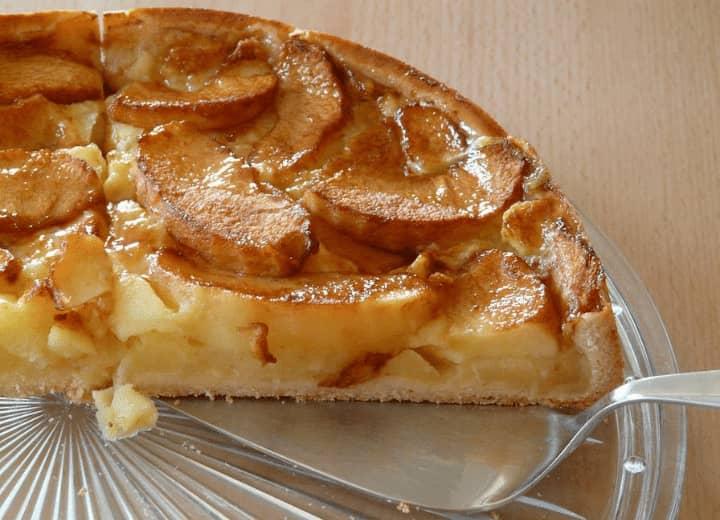 receita de torta de maçã com iogurte