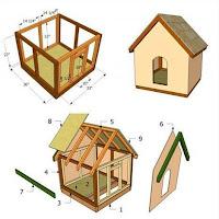 Planos de casas para perros
