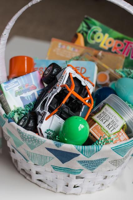 Easter Basket for a toddler boy