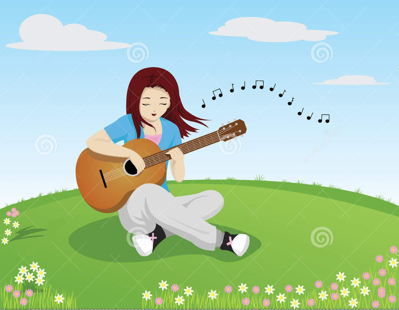 how to play guitar while singing song thedeepak com. Black Bedroom Furniture Sets. Home Design Ideas