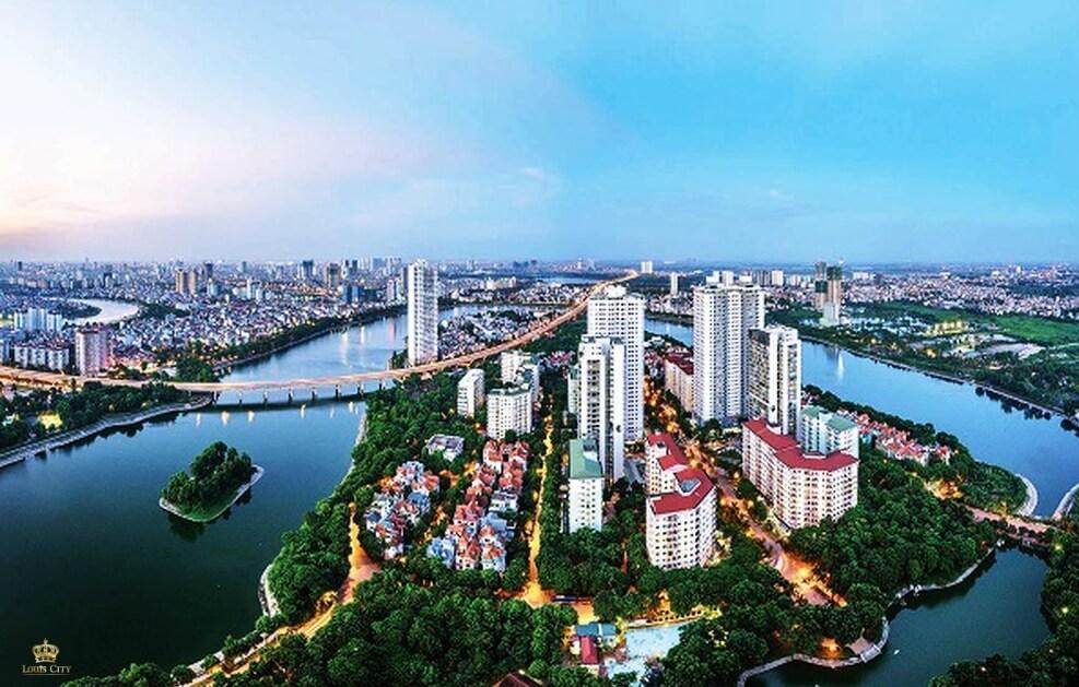 Hạ tầng phát triển đô thị quận Hoàng Mai