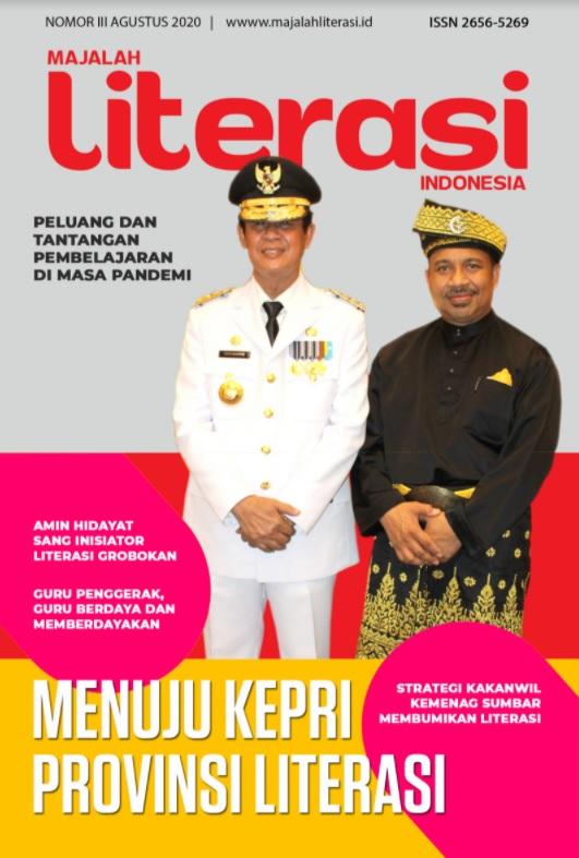 MAJALAH LITERASI INDONESIA AGUSTUS 2020
