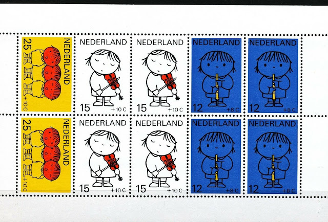 Children, Cartoon, Dick Bruna, Netherlands Minisheets