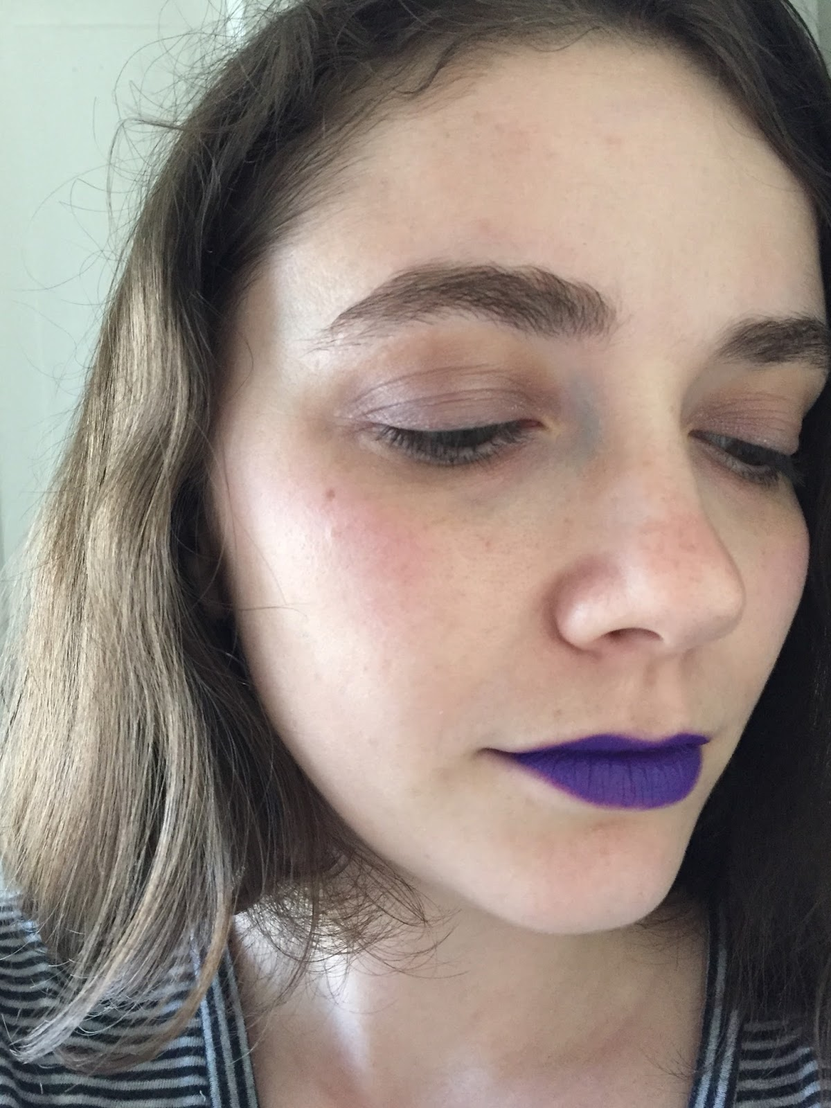 Auxiliary Beauty: NYX Liquid Suede In Amethyst