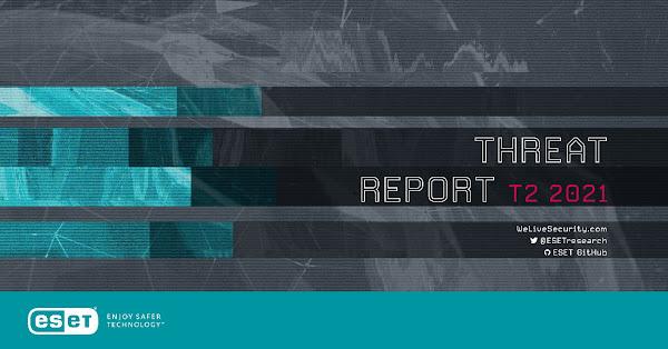 ESET Threat Report T2 2021 revela aumento de deteções de malware em Portugal