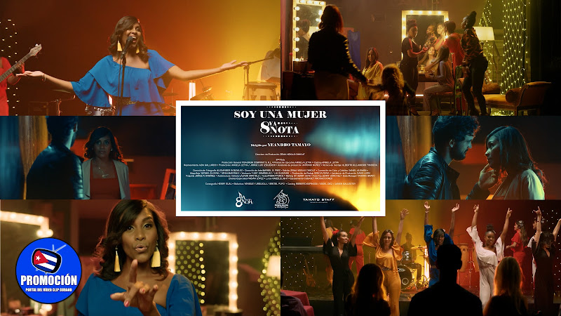 Octava Nota - ¨Soy una mujer¨ - Videoclip - Director: Yeandro Tamayo. Portal Del Vídeo Clip Cubano. Música popular bailable cubana. Cuba.