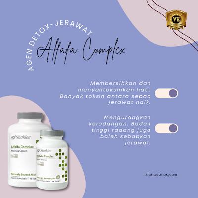 alfalfa shaklee untuk kulit