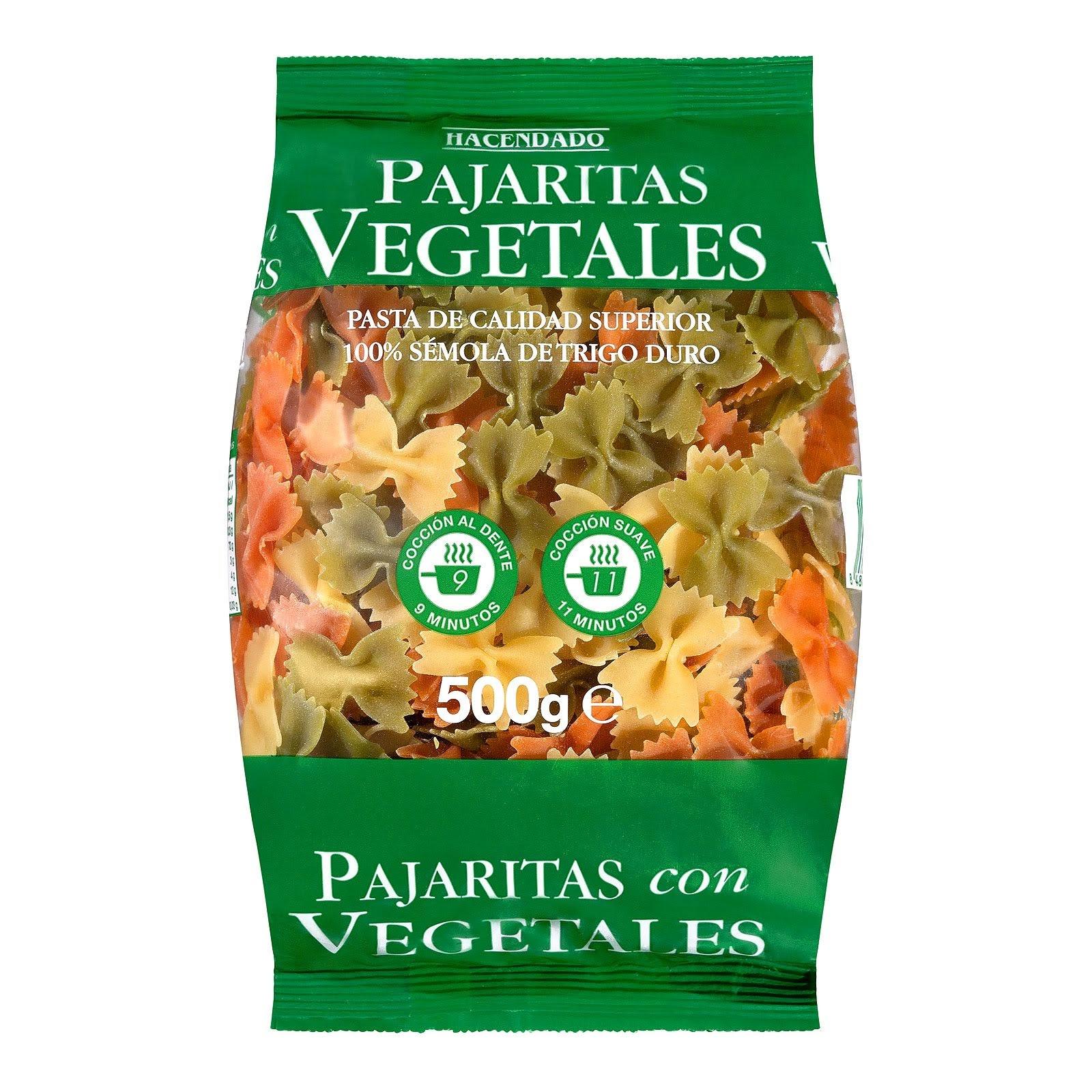 Pajaritas vegetales Hacendado