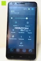 "Helligkeit Ton Flugmodus: HOMTOM HT30 3G Smartphone 5.5""Android 6.0 MT6580 Quad Core 1.3GHz Mobile Phone 1GB RAM 8GB ROM Smart Gestures Wake Gestures Dual SIM OTA GPS WIFI,Weiß"