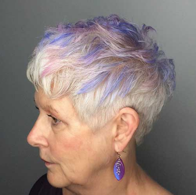 short hairstyles for women over 60 year old