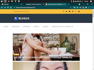 Blogus Premium version