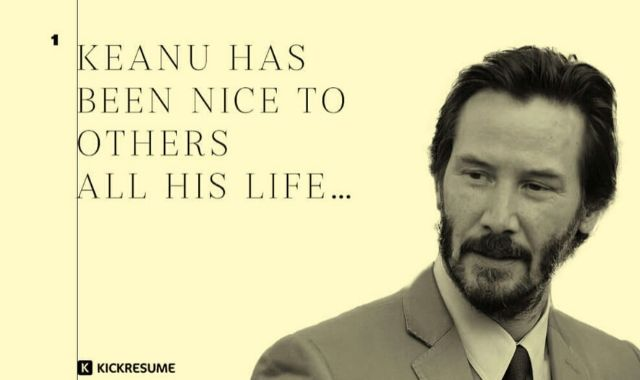 Celebrities Worth Celebrating: Keanu Reeves' Resume of Kindness