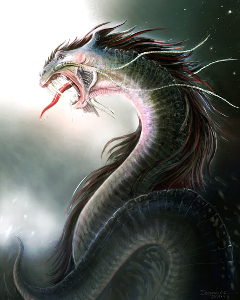 Zzzaxis Dragon-digital Painting