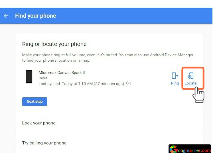 How To Find Stolen/Lost Android Smartphone in just couple of minutes.
