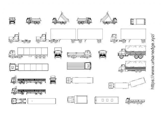 Trucks set cad blocks free download - 25+ Truck Dwg Models