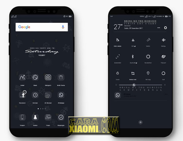 MIUI Theme BMTH Bring Me The Horizon Mtz For Xiaomi [New]