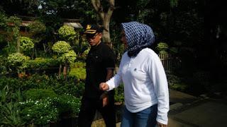 Kota Cirebon Akan Menerima Hibah Stadion Bima ,Wakil Walikota Cirebon Cek Batas-Batas Lokasi.