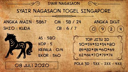 Nagasaon Singapura SGP Rabu
