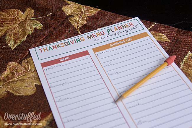 graphic about Thanksgiving Planner Printable referred to as Absolutely free Printable Thanksgiving Menu Planner and Browsing Checklist