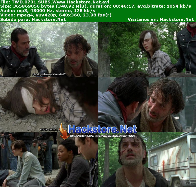 Capturas de The Walking Dead Séptima Temporada Subtitulado