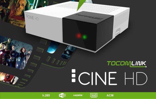 Tocomlink Cine HD Atualização DRMCAM V2.009 - 29/12/2020
