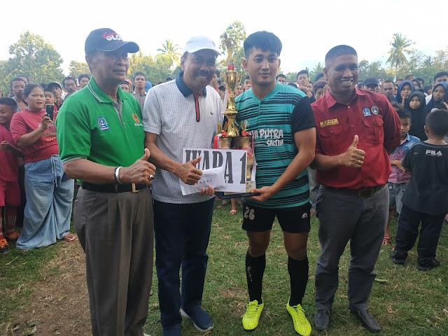 Dua Putra Saltim Juarai Turnamen Ahmading-ST Rabiah Cup