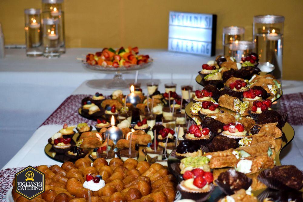 Buffet Di Dolci Per Compleanno : Buffet di dolci per i anni di chiara presso villa privata a