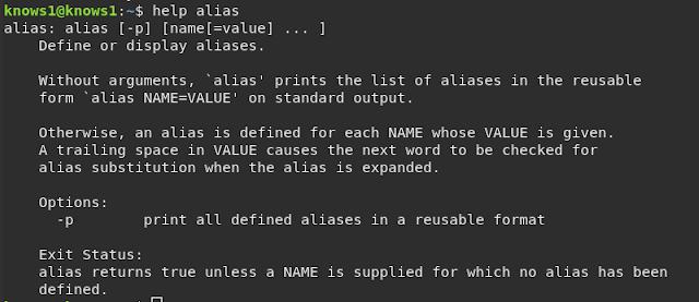 كيفية أستخدام أمر {alias} في لينكس سطر الأوامر ؟         الاسم المستعار للأوامر هو : alias  : يسمح بتشغيل أي أمر أو مجموعة من الأوامر باستخدام اسم محدد مسبقًا .        إنشاء أسماء أو اختصارات بسيطة  للأوامر .      كيفية أنشاء الاسم المستعار للأوامر ؟  كيفية إنشاء أسماء مستعارة من خلال استدعاء الأسماء المستعارة الأخرى؟ . ما هي أنواع الاستخدامات للأسماء المستعارة ؟ كيف أصنع اسماء مستعارة دائمة ؟ كيفية إزالة الأسماء المستعارة ؟