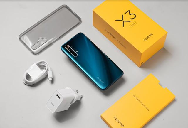 Unboxing Realme X3 SuperZoom, Apa Saja Isi Paket Pembeliannya?