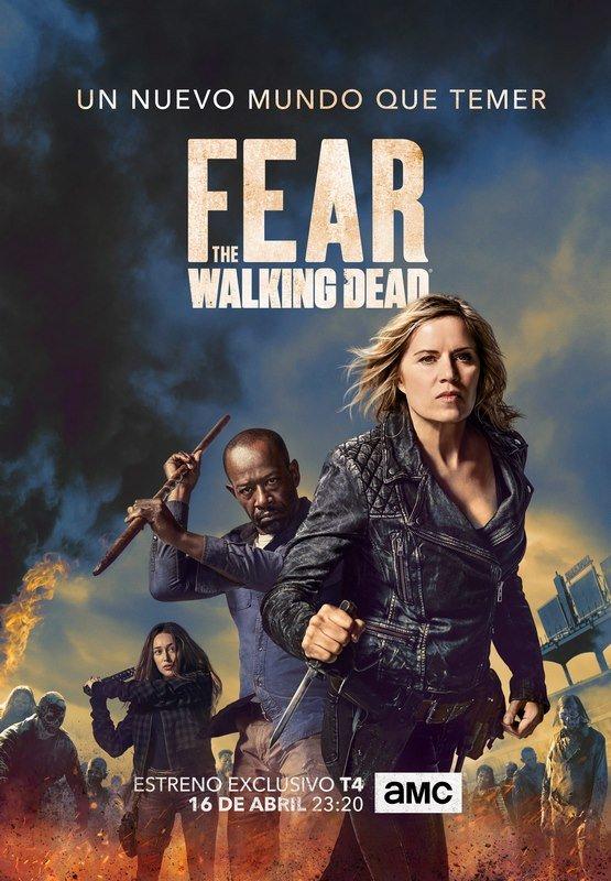 SeriesMEGA: Fear The Walking Dead Temporada 4 En Español Latino HD
