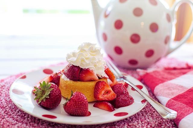 gambar olahan buah strawberry