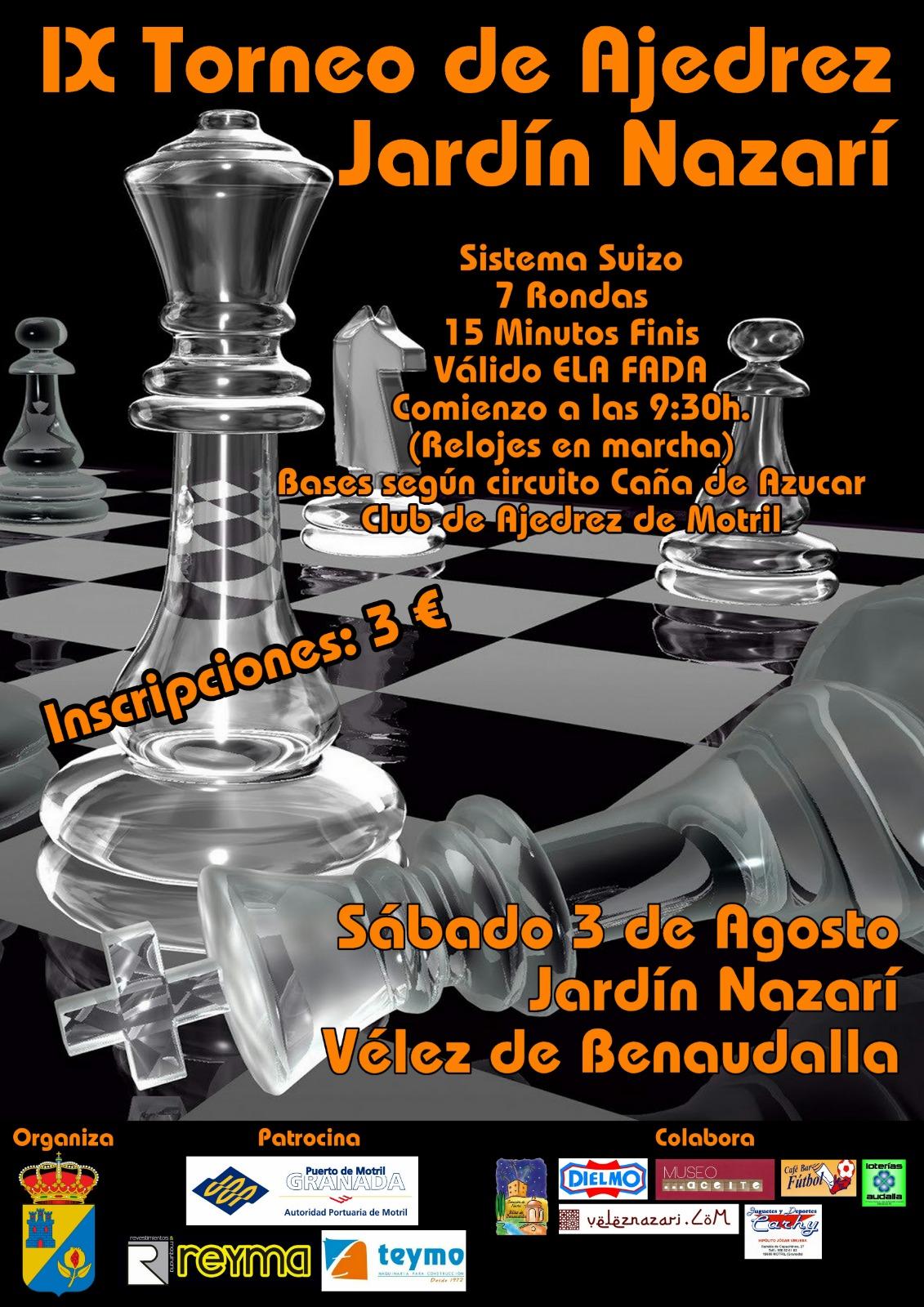 IX Torneo de Ajedrez Jardín Nazarí
