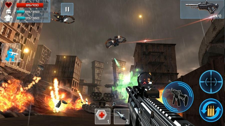 download Enemy Strike 2 Mod Apk v1.0.4 (Unlimited Health + Ammo) 1