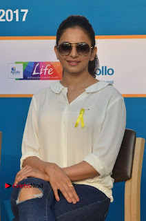 Actress Rakul Preet Singh at Endometriosis Awareness Walk at Apollo Cradle  0067.jpg