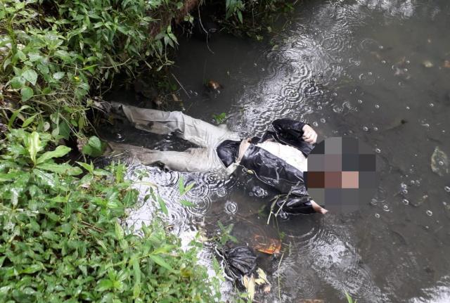 Warga Bandung Ditemukan Tewas Didalam Kolam