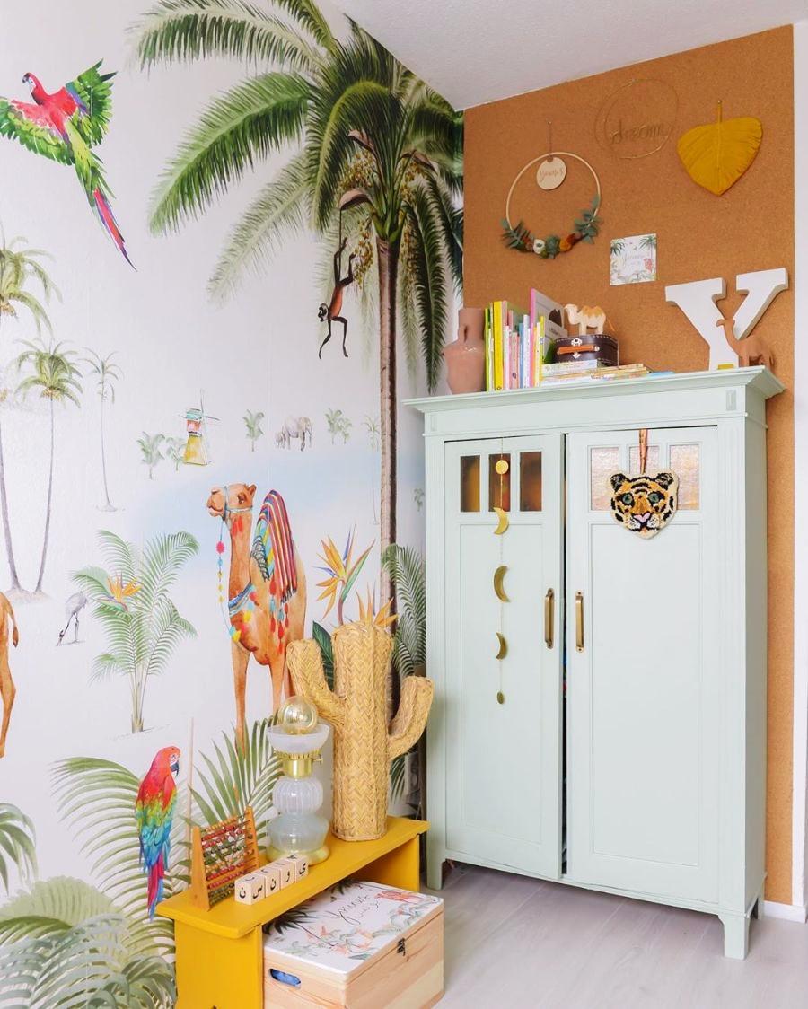 Skandynawski apartament z arabskimi akcentami, wystrój wnętrz, wnętrza, urządzanie domu, dekoracje wnętrz, aranżacja wnętrz, inspiracje wnętrz,interior design , dom i wnętrze, aranżacja mieszkania, modne wnętrza, styl skandynawski, scandinavian style, otwarta przestrzeń, open space, pokój dziecięcy, pokój niemowlaka, kids room,