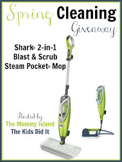 Enter the Spring Cleaning With Shark Giveaway. Ends 3/31