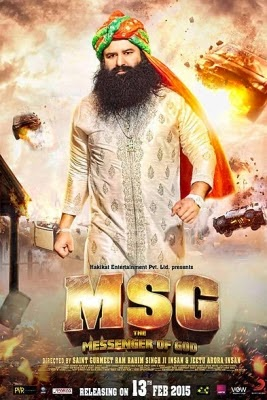 MSG The Messenger (2015) Hindi HDTV Rip 700mb