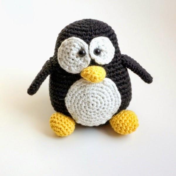 Pingouin Tux crochet